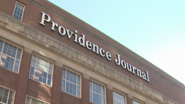 Providence Journal's headquarters on Fountain Street in Providence. (photo: WPRI 12)